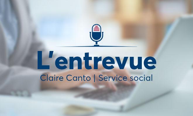 entrevue service social